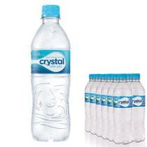 Agua Mineral Cristal 500 ml Sem Gás  Pack12 unidades -