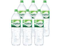 Água Mineral Crystal com Gás 1,5L - 6 Unidades