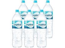 Água Mineral Crystal sem Gás 1,5L - 6 Unidades