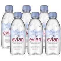 Água Mineral Evian Sem Gás 330ml 06 Unidades -