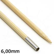 Agulha Circular Intercambiável de Bambu Carry C - Tulip -