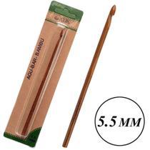 Agulha Croche de Bambu 5,5mm - Nybc
