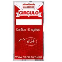 Agulha para Bordado e Ponto Cruz nº 24 10un Círculo - Circulo