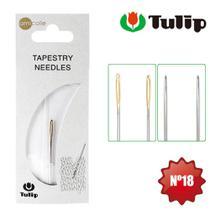 Agulha Tapestry para Bordar Tapeçaria Tulip nº 18 - 3 Unidades -
