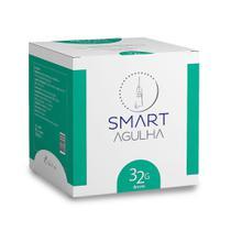 Agulha Toxina Botulínica Lebal 32G/4MM Smart Gr CX 100 Un -