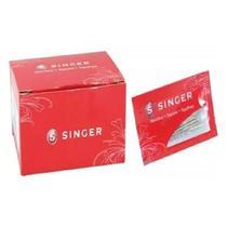 Agulhas mais usadas para Máquina de Costura -Singer- 250 un -