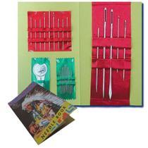 Agulheiro Índio Galant com 24 agulhas e 1 passador - 12 unidades -