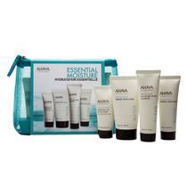 Ahava Skin Solution Essential Moisture Kit - Loção Corporal + Gel de Banho + Creme para as Mãos + Creme para Pés -
