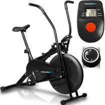 Air Bike Podiumfit Ab100 - Bicicleta Ergométrica Silenciosa -