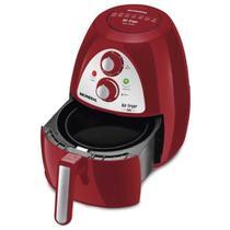 Air fryer mondial af14 3,2 litros inox vermelha com timer 110v -