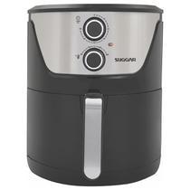 Airfryer Fritadeira Lightfry Preta Em Inox 4 Litros 220V - Suggar -