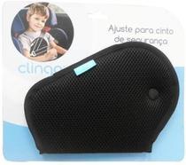 Ajuste Infantil De Cinto De Segurança Automotivo Preto - Brasbaby