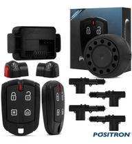 Alarme Automotivo Positron Cyber Fx360 + Kit Trava 4 Portas - Positron/Isoflex