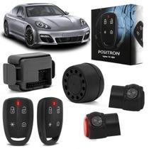 Alarme Automotivo Pósitron Cyber FX360 Universal Funções Pânico Bloqueio Progressivo - Positron
