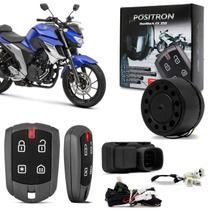 Alarme De Moto Pósitron Duoblock Fx G8 Yamaha Fazer 150 250 Xtz 150 Crosser Ybr 150 Factor 2018 - Positron