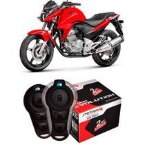 Alarme Moto Universal Controle Presença Com Partida Stetsom Triplo I -