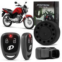 Alarme Moto Universal Positron Duoblock PRO 350 G8 Função Presença Sensor Movimento Com 2 Controles -