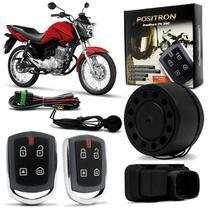 Alarme Moto Universal Positron Duoblock PX 350 G8 Função Presença Sensor Movimento Com 2 Controles -