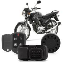 Alarme Moto Ybr Factor 125 2010 Em Diante - Positron