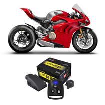 Alarme Motocicleta Olimpus Padlock Moto S Função Antiassalto Localizador Presença Senha -