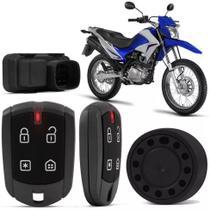 Alarme P/ Moto Honda Positron Duoblock Fx 350 G8 Dedicado Bros 150 1015 Bros 160 1618 XRE 190 16  -