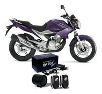 Alarme Para Moto Bloqueador De Presença Fazer 250 Até 2010 - New Shock