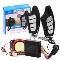 Alarme para moto sistema liga partida corta corrente ignicao 2 controles com aviso no visor até 1,5k - Knup