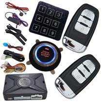 ALARME START STOP (Controle de Presença + Teclado Senha + Ultrasson + Sirene + Modulo GPS) - Cardot