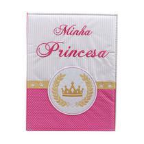 Álbum 240 Fotos 10x15 Bebe Bordado Minha Princesa Rec 501/03 - Recordari