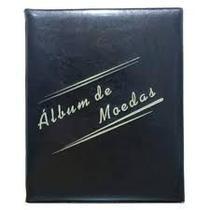 Álbum Acolchoado pequeno 2 argolas  para 200 moedas - Loja Do Colecionador