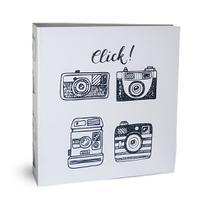 Álbum Autocolante 15 Folhas Branca Ical Click -