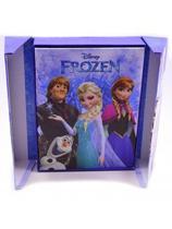 Álbum Azul Para 120 Fotos 10X15cm Anna Elsa - Disney - Enfeites