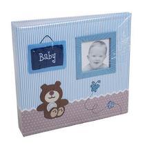 Álbum baby ursinho 200 fotos 10x15 C/ ferragem - Ical 800 -