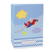 Álbum Bebê 120 Fotos 10x15 Ical Avião -