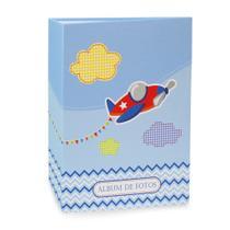 Álbum Bebê Rebites Solda Avião Menino 120 Fotos 10X15 - Ical
