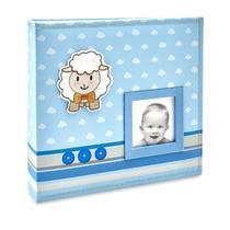 Albúm Bebê Tecido 100 Fotos 15x21 Ical -