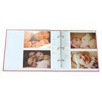 Álbum Bebê Tecido  Ferragem 200 Fotos 10X15 801 - Ical -