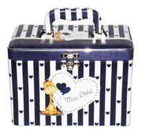 Álbum Caixa Box Meu Bebê  Azul Para 600 Fotos 10x15 + Diário - Álbuns E Fotos