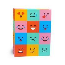 Álbum Criativa Folha Preta 160 Fotos Emoji - Ical