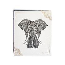 Álbum Criativa Folhas Preta 160 Fotos Elefante - Ical