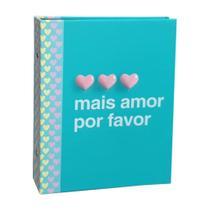 Álbum Criativa Folhas Preta 160 Fotos Mais Amor Por Favor - Ical