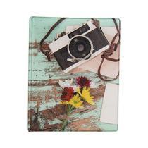 Álbum de 500 fotos 10x15 Aquarela Câmera c/ ADESIVOS - 5257 - 6658/054 - TUDOPRAFOTO