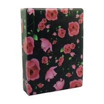 Álbum de 500 fotos 10x15 Floral - Tudoprafoto