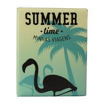 Álbum de 500 fotos 10x15 Viagens Flamingo c/ ADESIVOS - 10005 - 550871 - Tudoprafoto