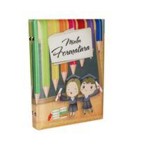 Álbum de Formatura ABC Capa Formatura Infantil Lápis Para 40 Fotos 15x21 - Álbuns E Fotos