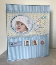 Álbum De Foto Infantil Baby Azul 120 Fotos 10 X 15-kit Girl -
