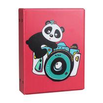 Álbum de Fotos 10x15 Aquarela Panda 500 Fotos - Tudoprafoto