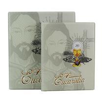 Álbum de Fotos 10x15  Eucaristia 200 fotos c/ Estojo Fecho Imã - 181735 - Tudoprafoto