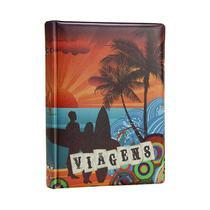 Álbum de Fotos 15x21 Viagens 100 Fotos Capa Dura - 85325 - Tudoprafoto