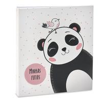 Álbum De Fotos 300 Fotos 10x15 Infantil Urso Ical -